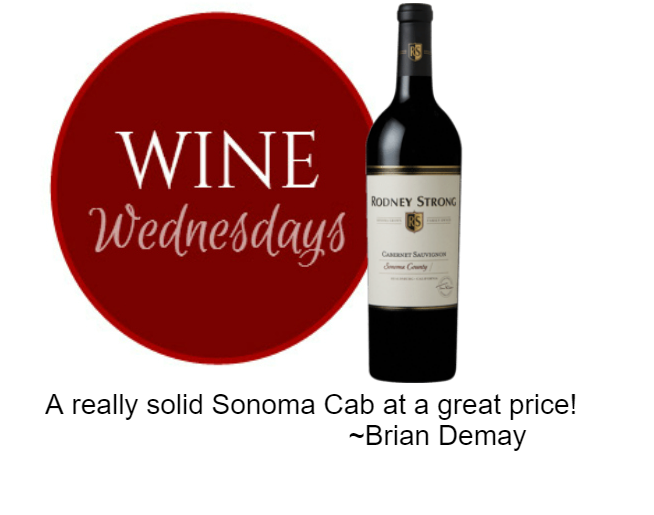 Brian Demay's Wine Wednesday: Rodney Strong Cabernet Sauvignon