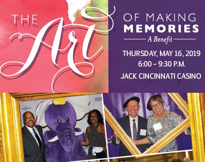 """""""The Art of Making Memories"""" Gala and Fundraiser"""