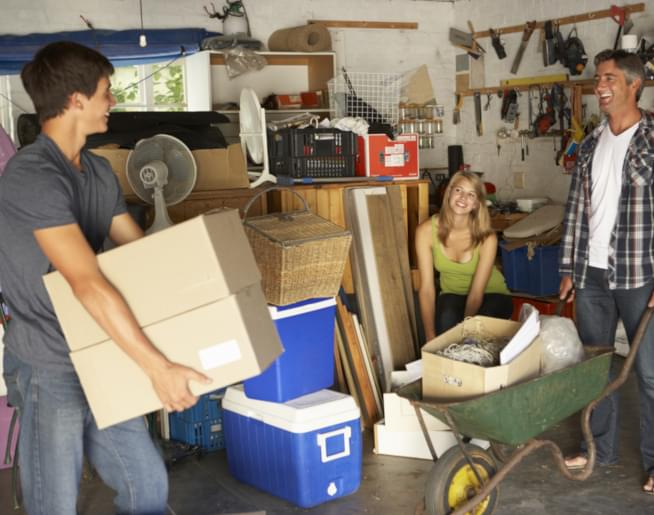 Garage Cleaning Tips with Sarah, The Mainstream Minimalist