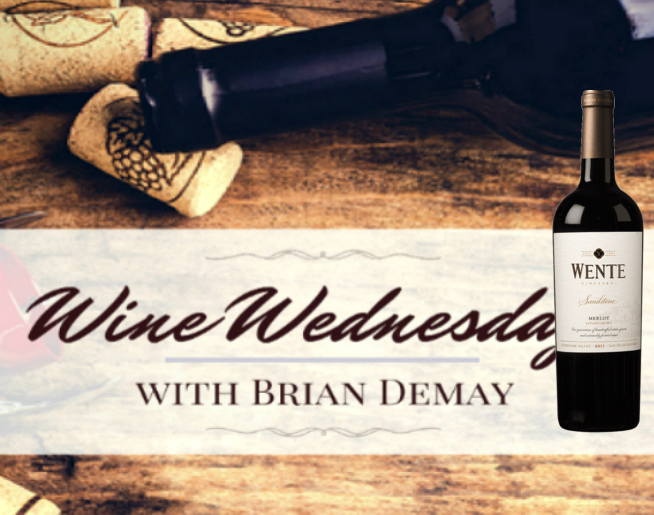 Brian Demay's Wine Wednesday: Wente Sandstone Merlot