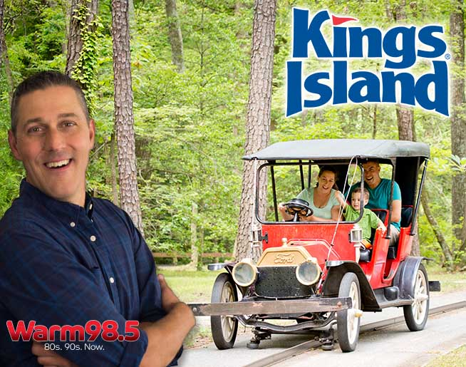 """""""Driving Jim Day"""" with Antique Autos at Kings Island!"""