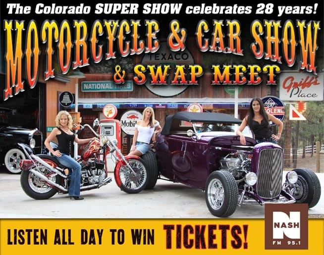 Super Show And Swap KATCFM - Old school car show colorado springs
