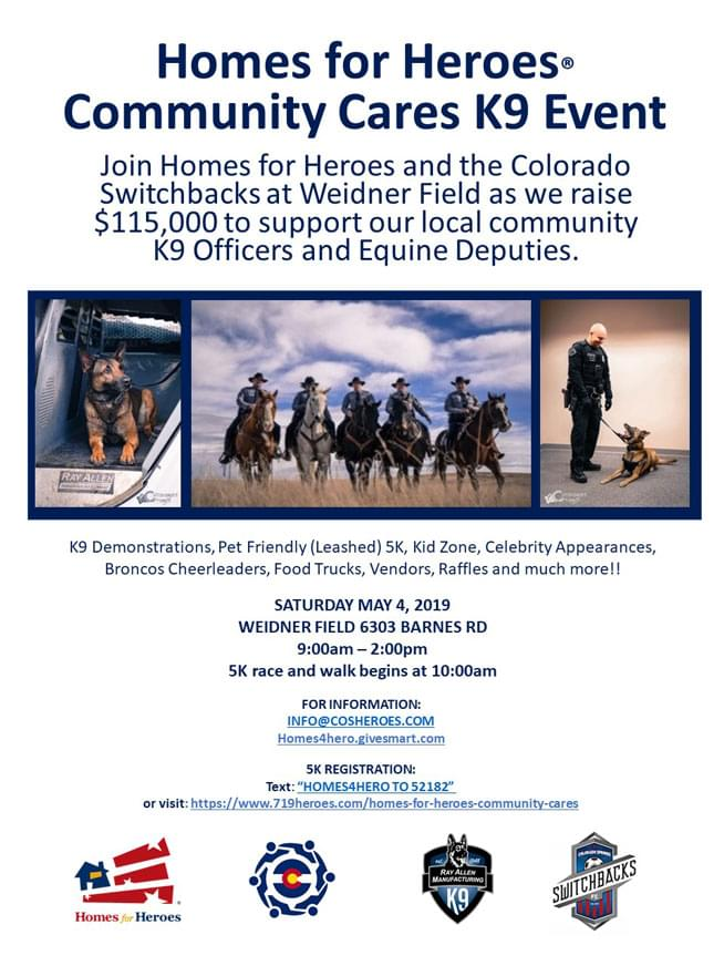 Homes For Heroes K9 Event Katc Fm