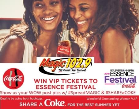 Experience Essence with Coca-Cola & Magic 102.9