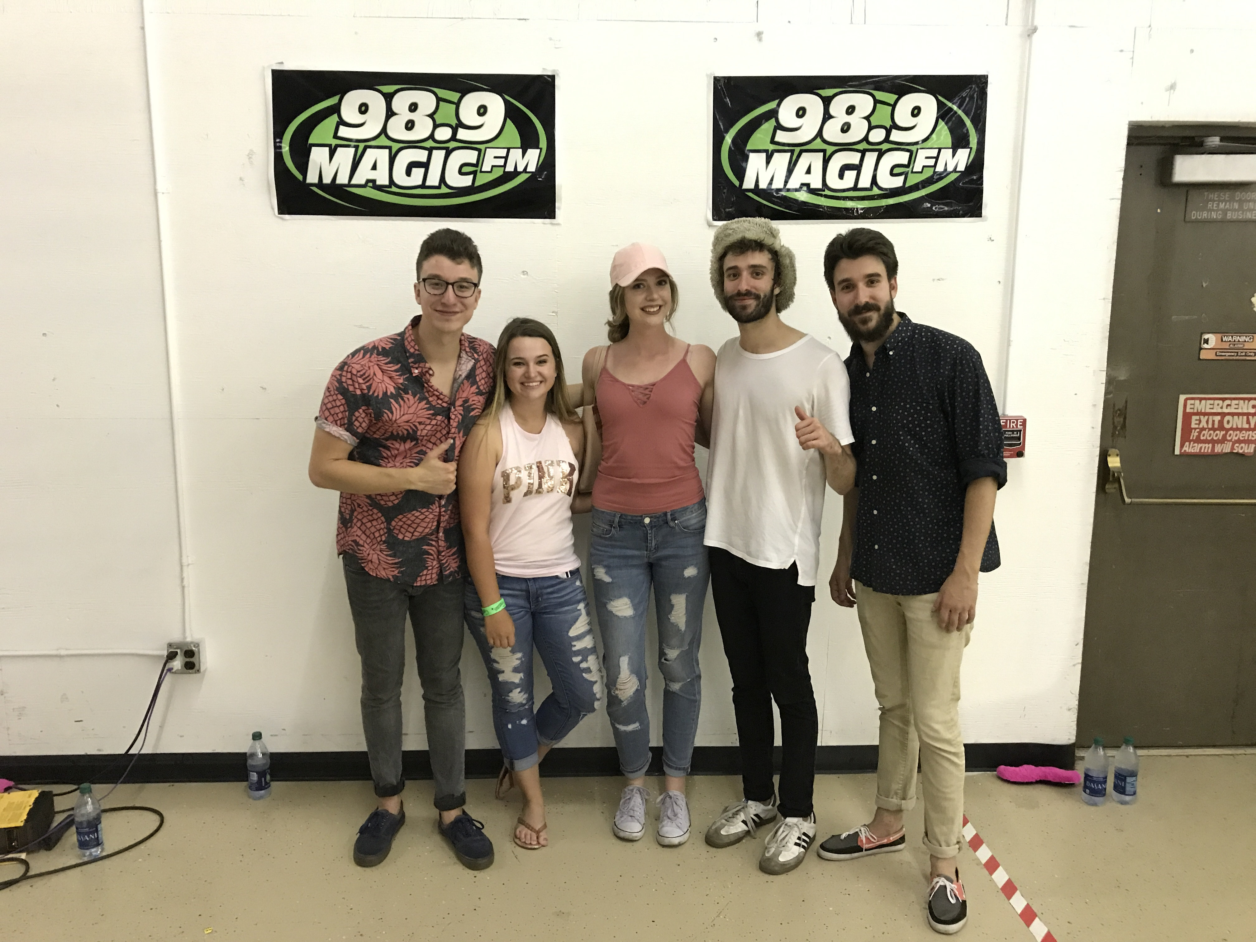 Ajr meet and greet pictures kkmg fm headlines kristyandbryce Choice Image