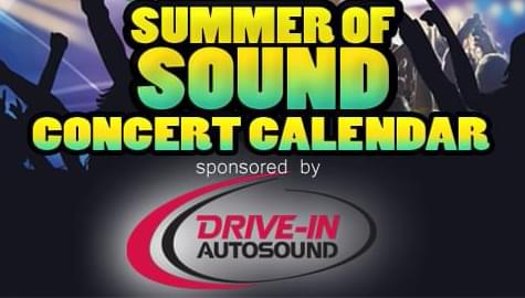 Summer of Sound Concert Calendar
