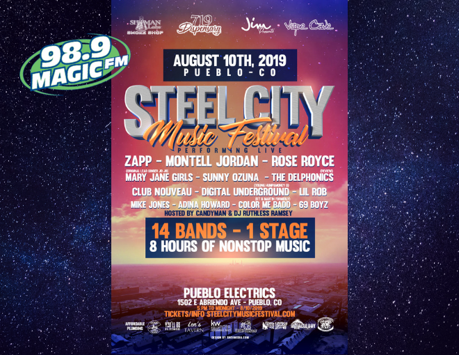 Steel City Music Festival 2019 – Pueblo