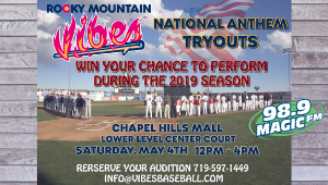 Vibes Announce 2019 National Anthem Auditions!