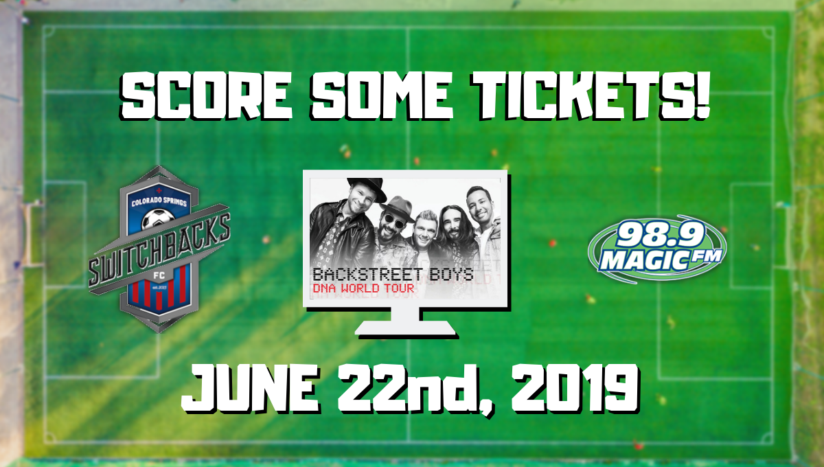 BACKSTREET BOYS TICKET GIVEAWAY @ Switchbacks Halftime