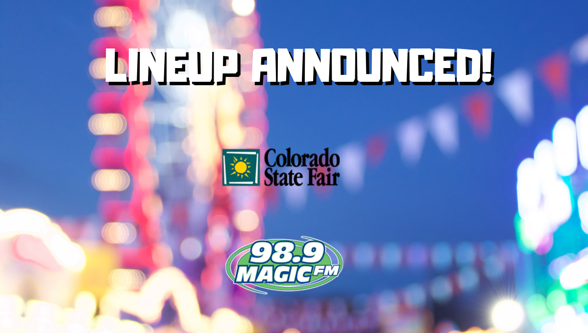 Colorado State Fair Lineup Announced!