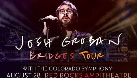 Josh Groban w/ Colorado Symphony | Red Rocks | Aug 28