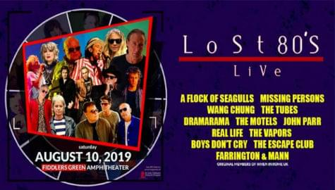 Lost 80's Live | Fiddler's Green | Aug 10