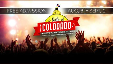 Taste of Colorado | Downtown Denver | Labor Day Weekend
