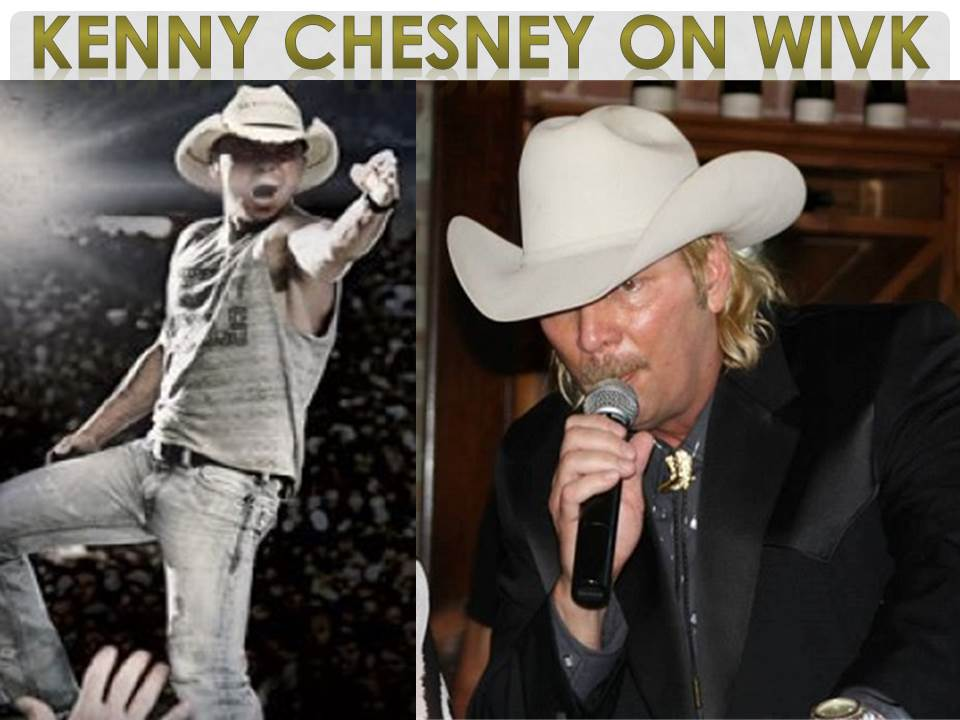 Kenny Chesney was live with Gunner on WIVK!