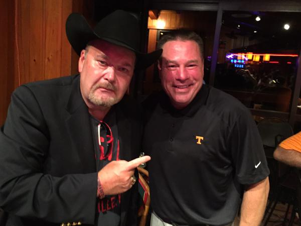 Jim Ross experiences WIVK's Big Orange Wake-up Call (Listen Here)