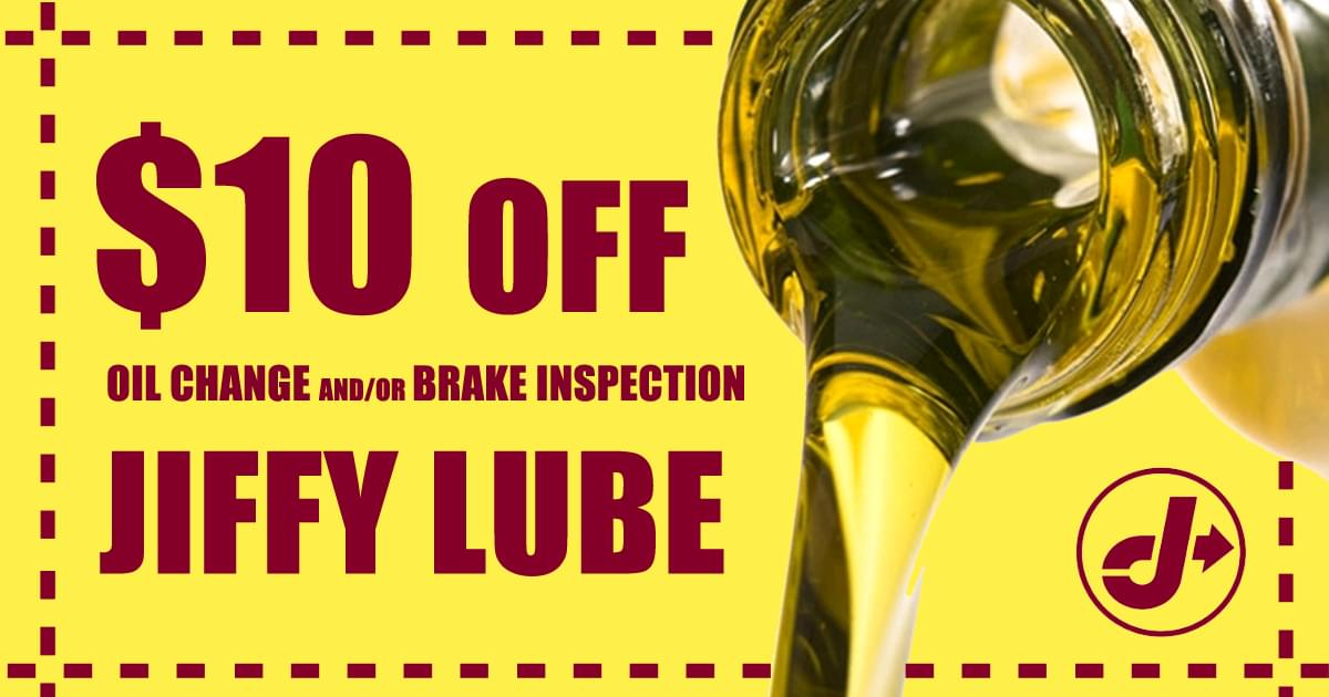 jiffy lube coupon landing