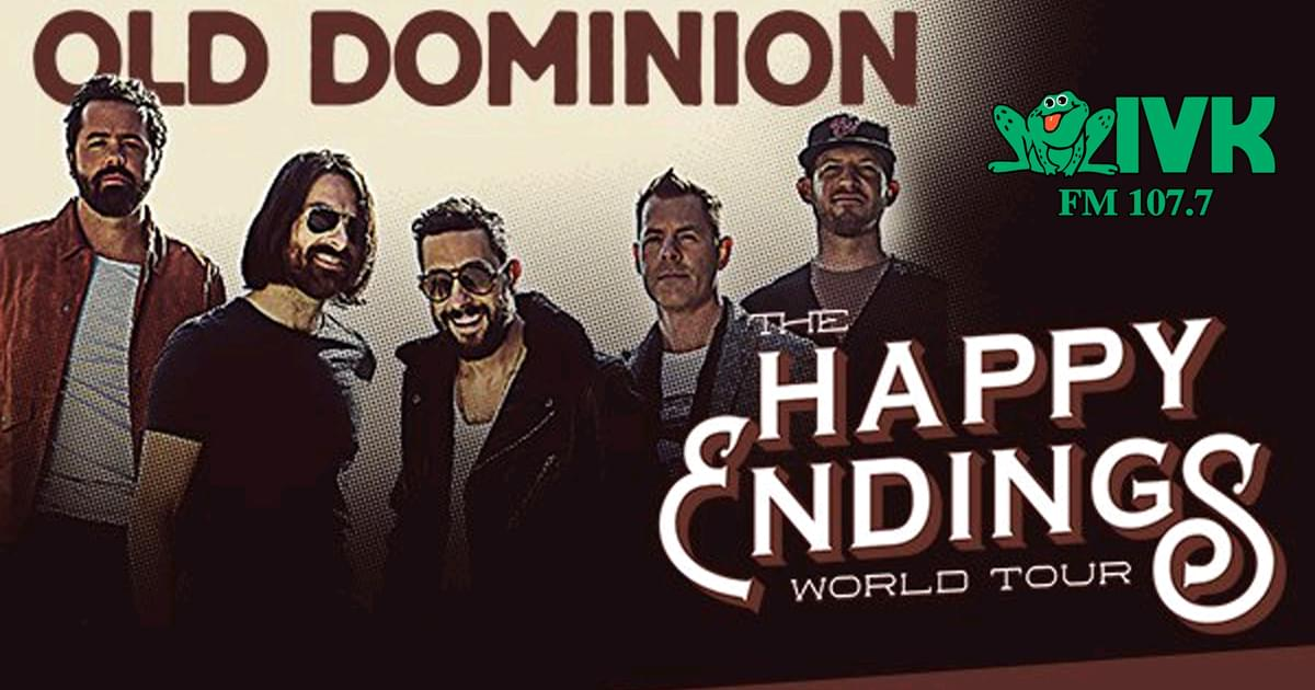 October 4 – Old Dominion at the Knoxville Coliseum