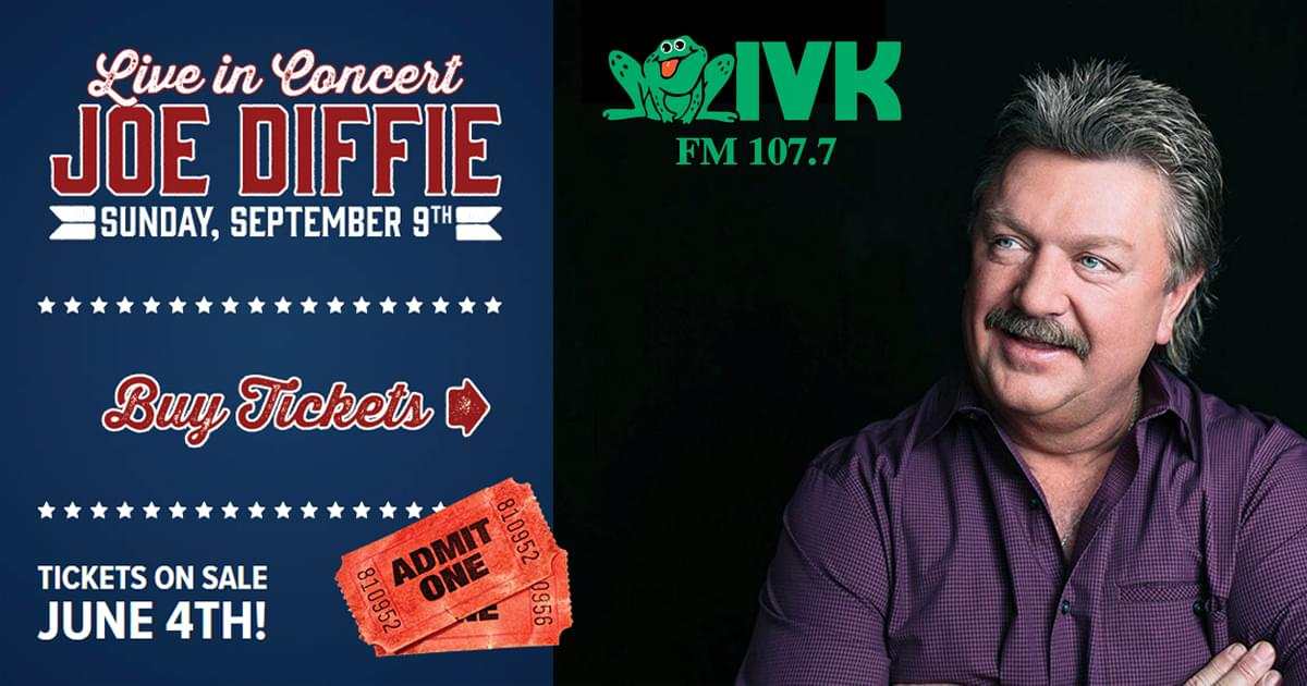 September 9 – Joe Diffie at the Fair