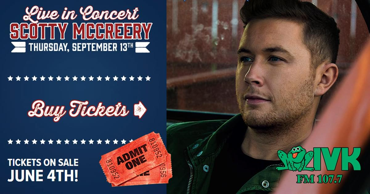 September 13 – Scotty McCreery at the Fair