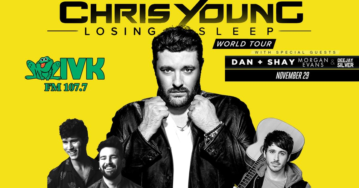 November 29 – Chris Young at Thompson-Boling Arena