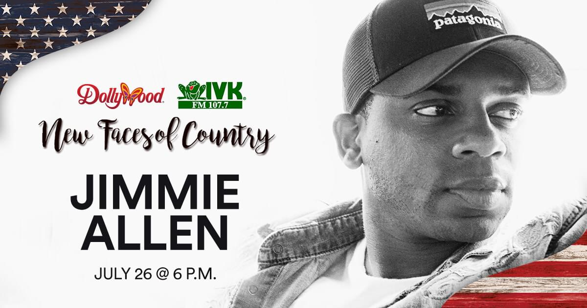 July 26 – Jimmie Allen at Dollywood