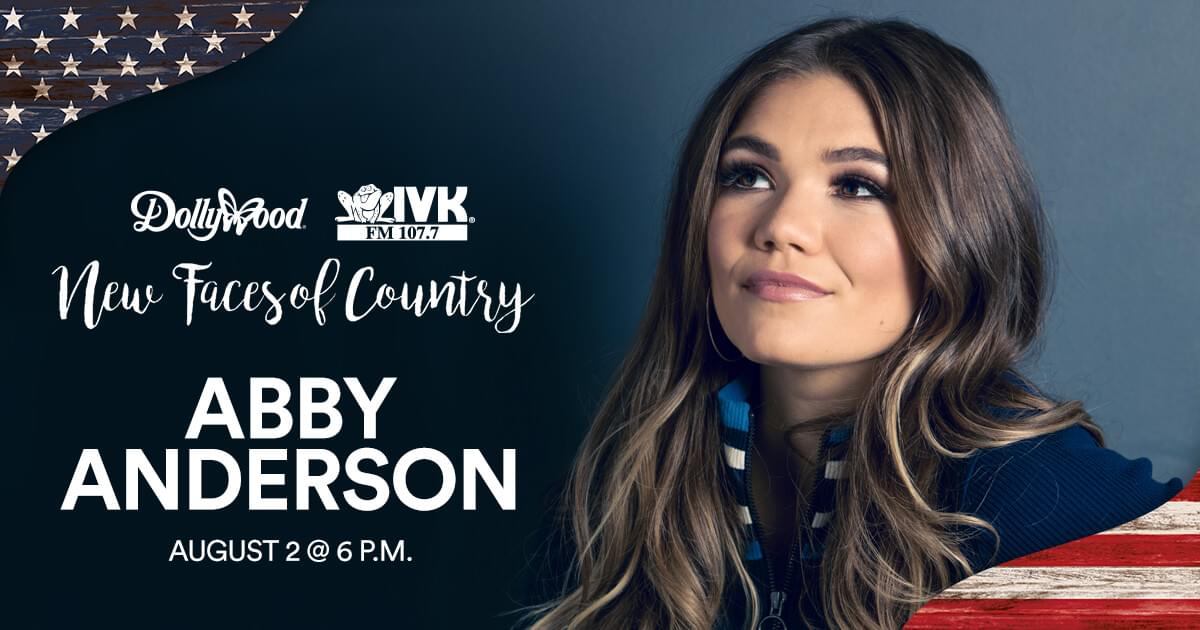 August 2 – Abby Anderson at Dollywood