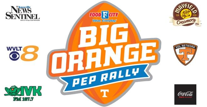 Big Orange Pep Rallies at Food City