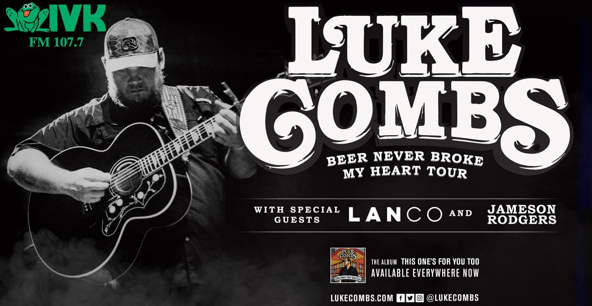 February 15 – Luke Combs at Thompson-Boling Arena