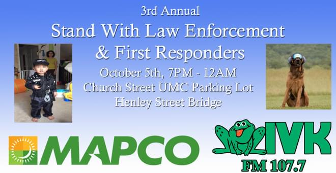 3rd Annual Stand With Law Enforcement & First Responders