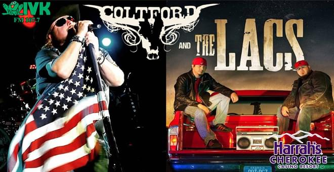 February 15 – Colt Ford & The LACS at Harrah's