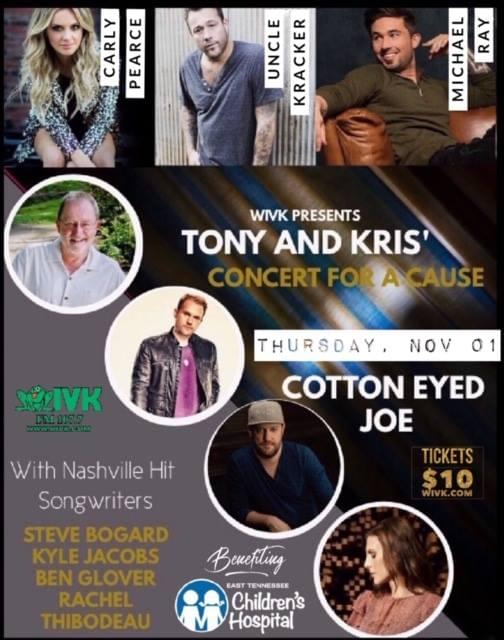 The Tony & Kris Concert For a Cause Is Back!