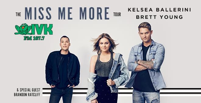 April 18 – Kelsea Ballerini & Brett Young at Knoxville Civic Coliseum