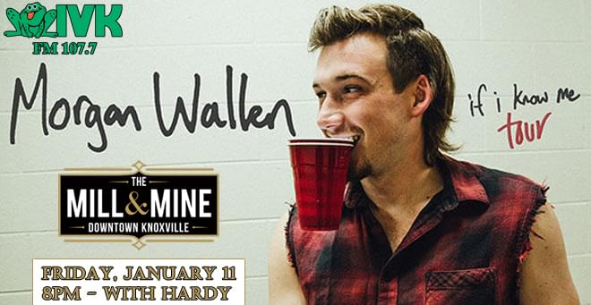 January 11 – Morgan Wallen at The Mill & Mine