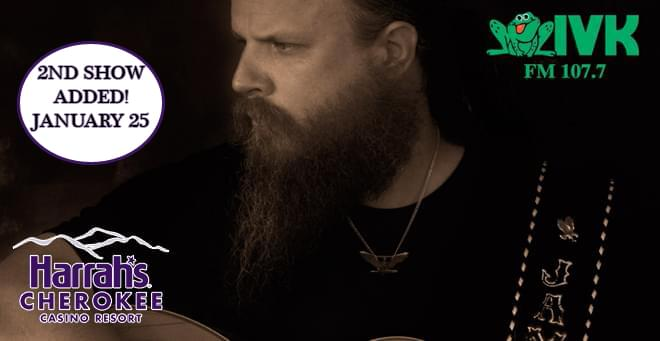 January 25 & 26 – Jamey Johnson at Harrah's