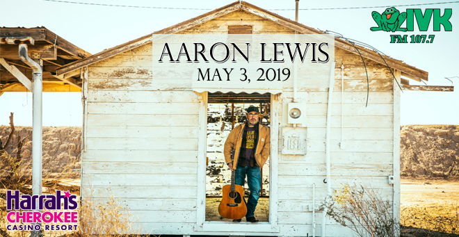 May 3 – Aaron Lewis at Harrah's