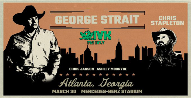 March 30 – George Strait at Mercedes-Benz Stadium