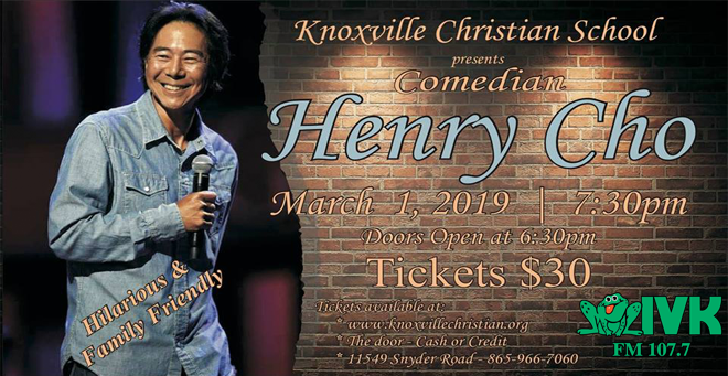 Henry Cho at Knoxville Christian School