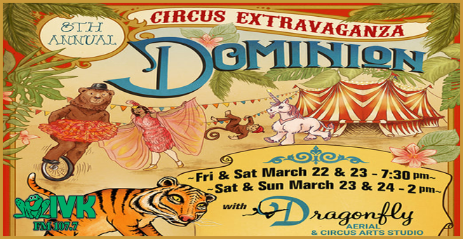 Dragonfly's 8th Annual Circus Extravaganza