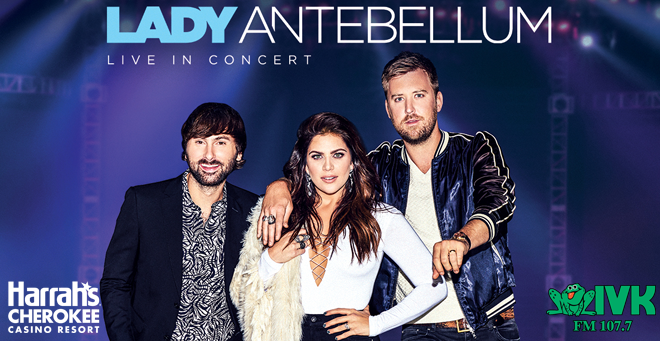 July 5 – Lady Antebellum at Harrah's