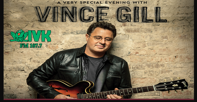 August 7 – Vince Gill at Knoxville Civic Auditorium