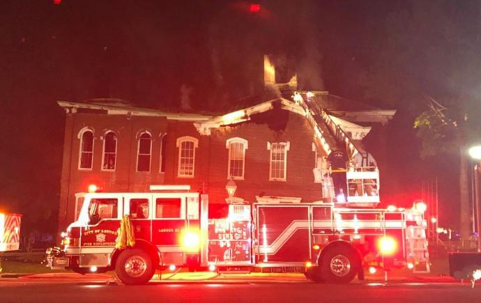 Loudon County Courthouse Could Be a Total Loss