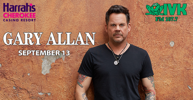 September 13 – Gary Allan at Harrah's