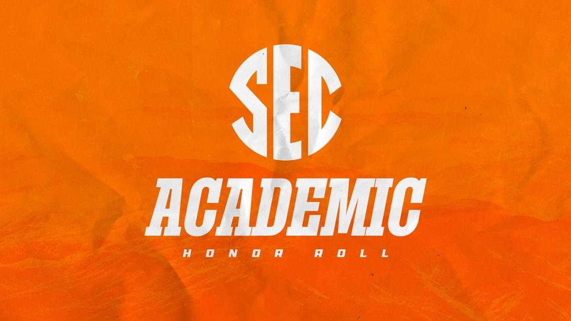 UT Places 106 on Spring SEC Honor Roll