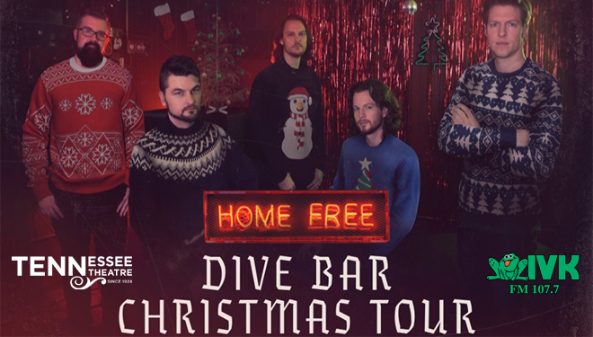 December 11 – Home Free Dive Bar Christmas Tour at Tennessee Theatre