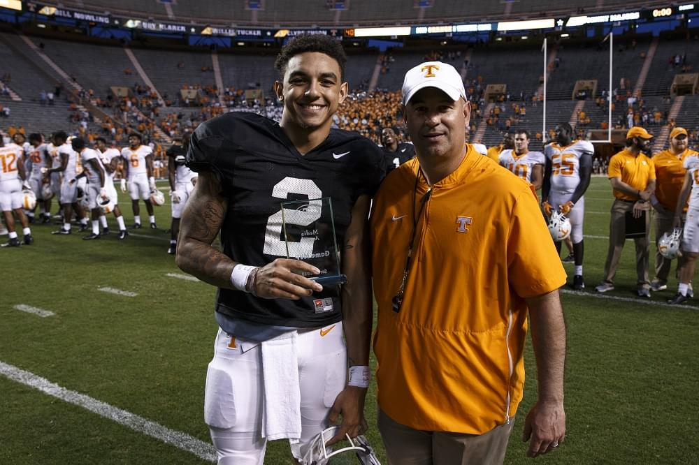KNOXVILLE, TN - 2019.04.13 - 2019 Chevrolet Orange and White game
