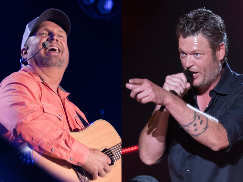 """Garth Brooks Dishes How His """"Dive Bar"""" Duet With Blake Shelton Came Together: """"I Called Him Up"""""""