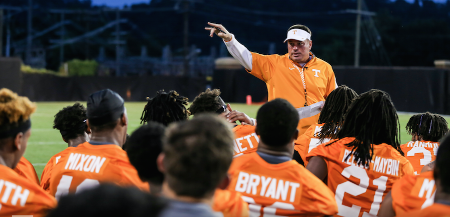 Casting 'Butch Jones: An Individual'