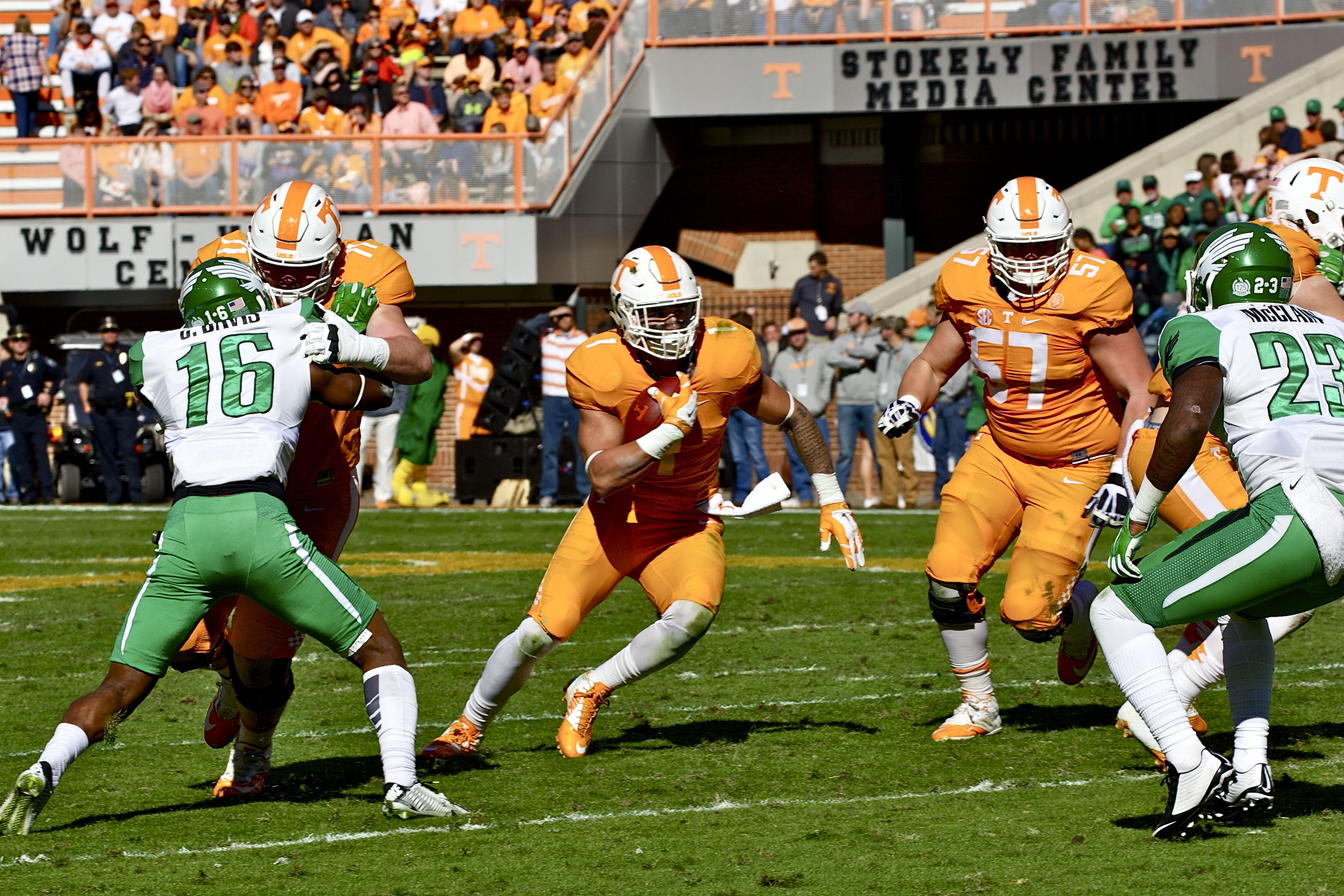 Photo Gallery: Tennessee vs. North Texas Football Action 11-14-15