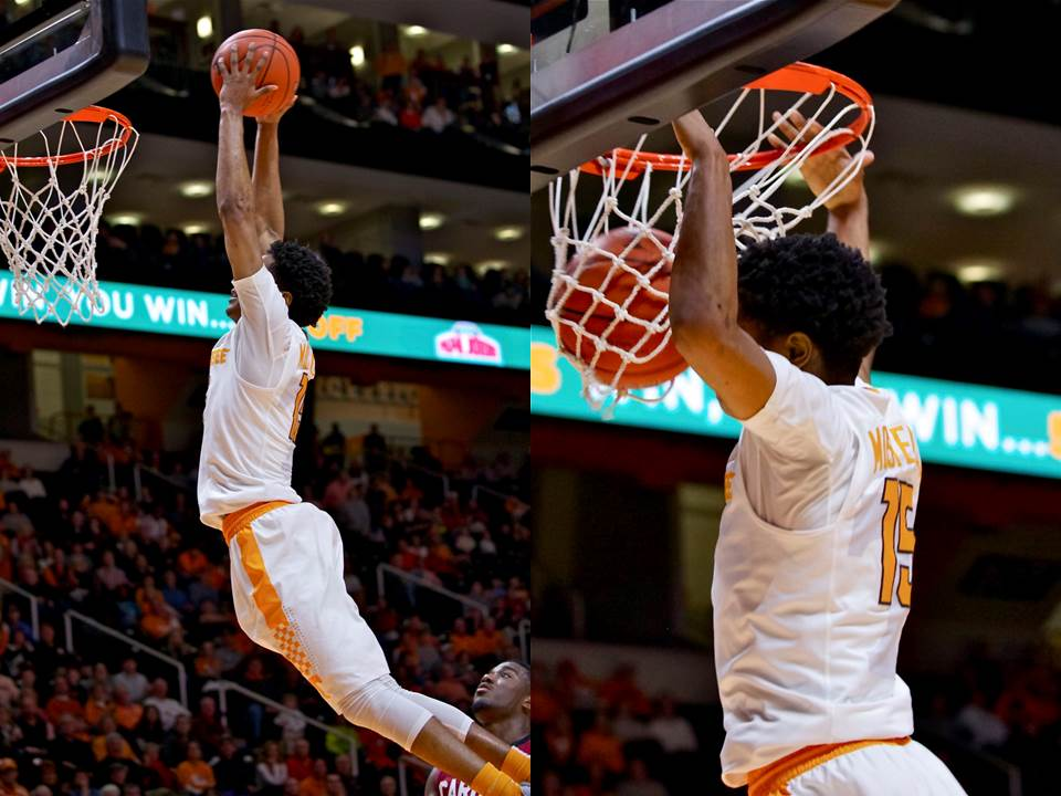 Photo Gallery: Tennessee Upsets South Carolina 1-23-16
