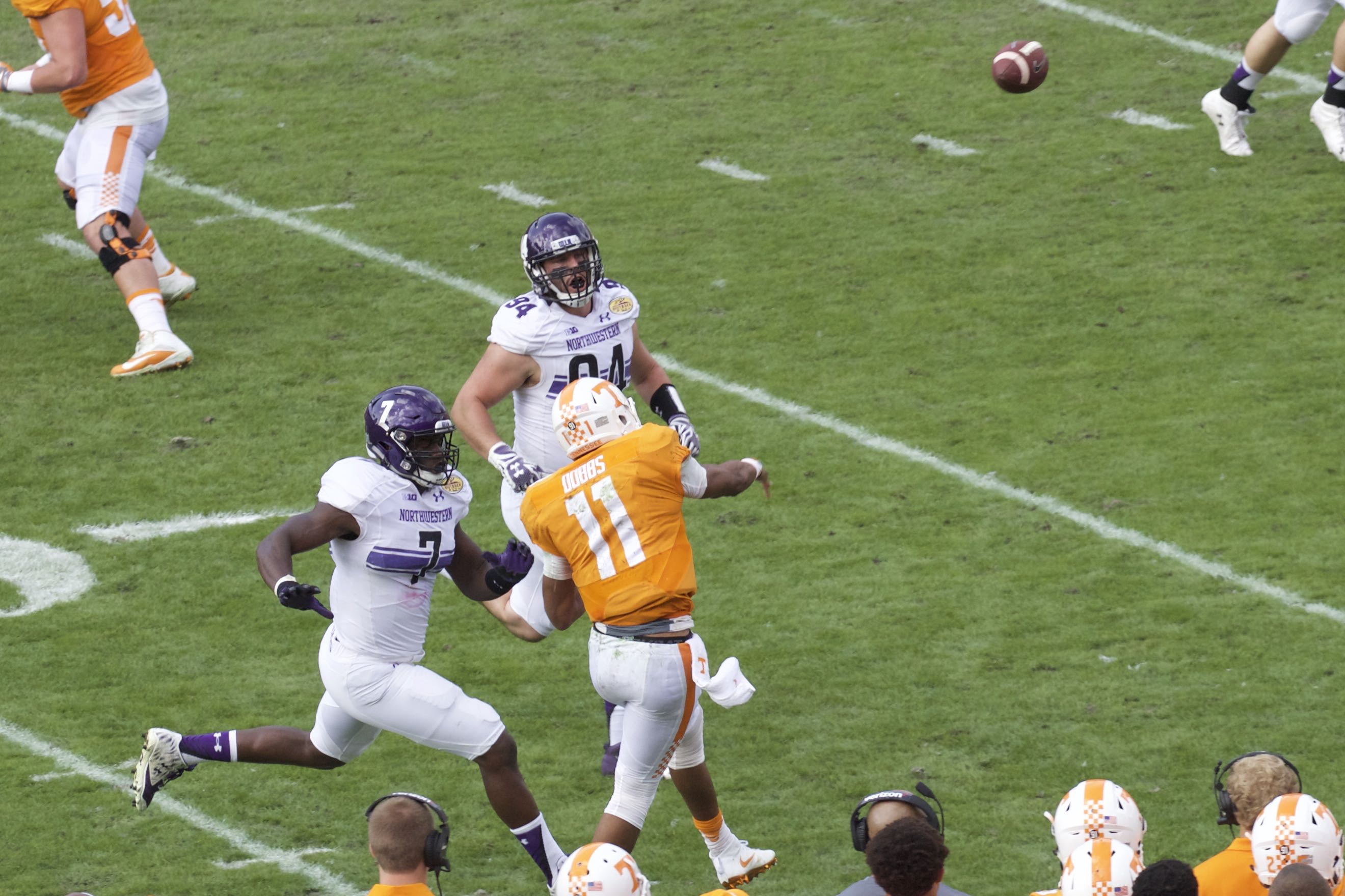 Photo Gallery: Tennessee beats Northwestern in Outback Bowl